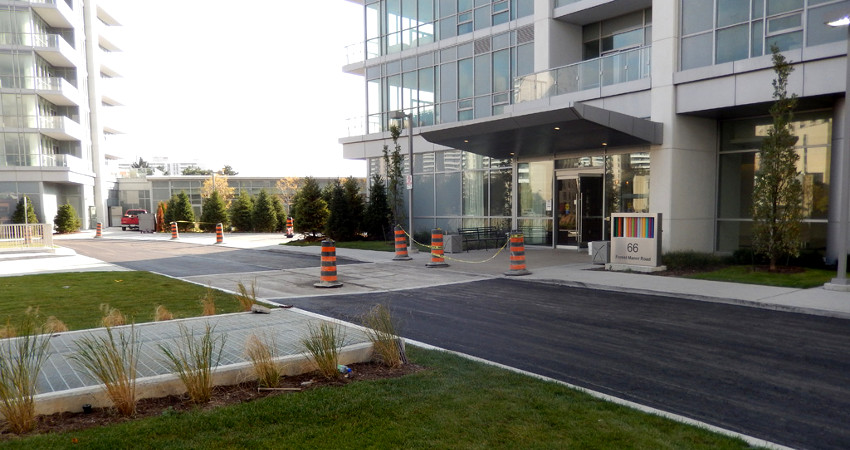 commercial asphalt paving toronto area